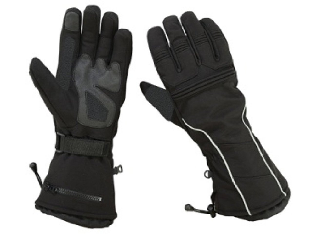 Gauntlet Snowmobile Motorcycle Gloves Men's Textile Ski Driving