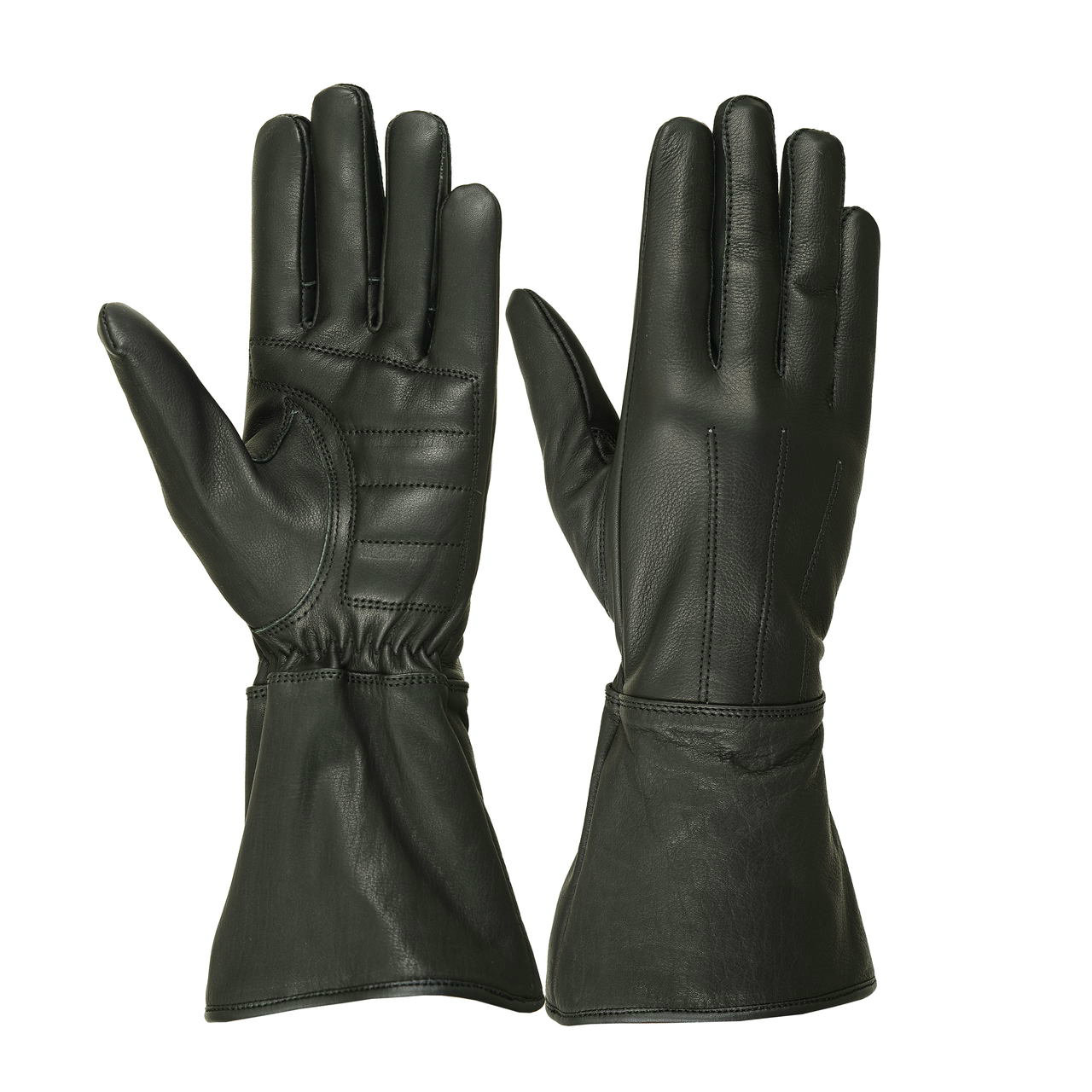 Ladies Water Resistant Deerskin Gauntlet Glove