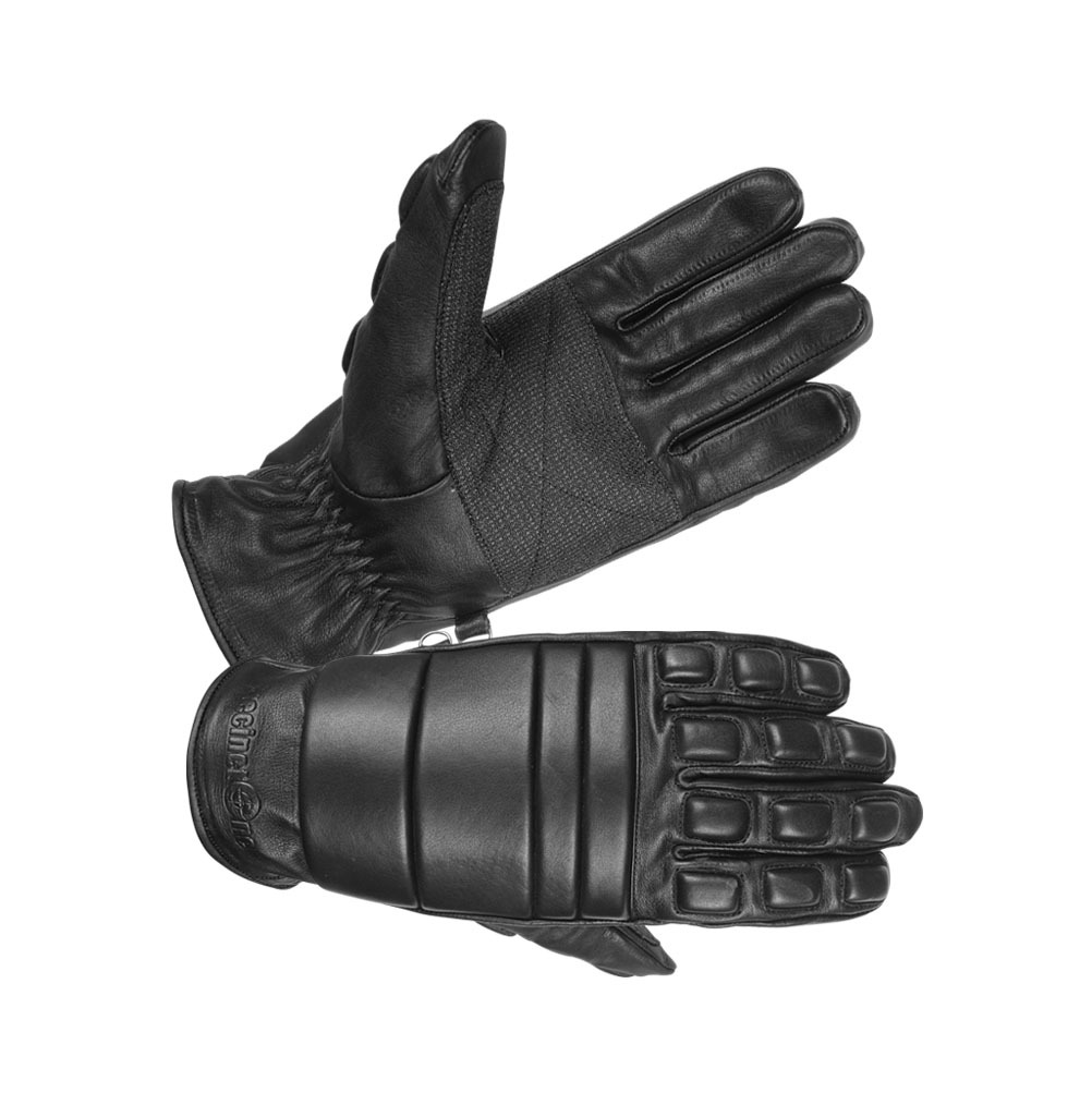 Men's Safety Unlined Technaline Leather, Extended Riot Gloves, Water Resistant, Fireproof