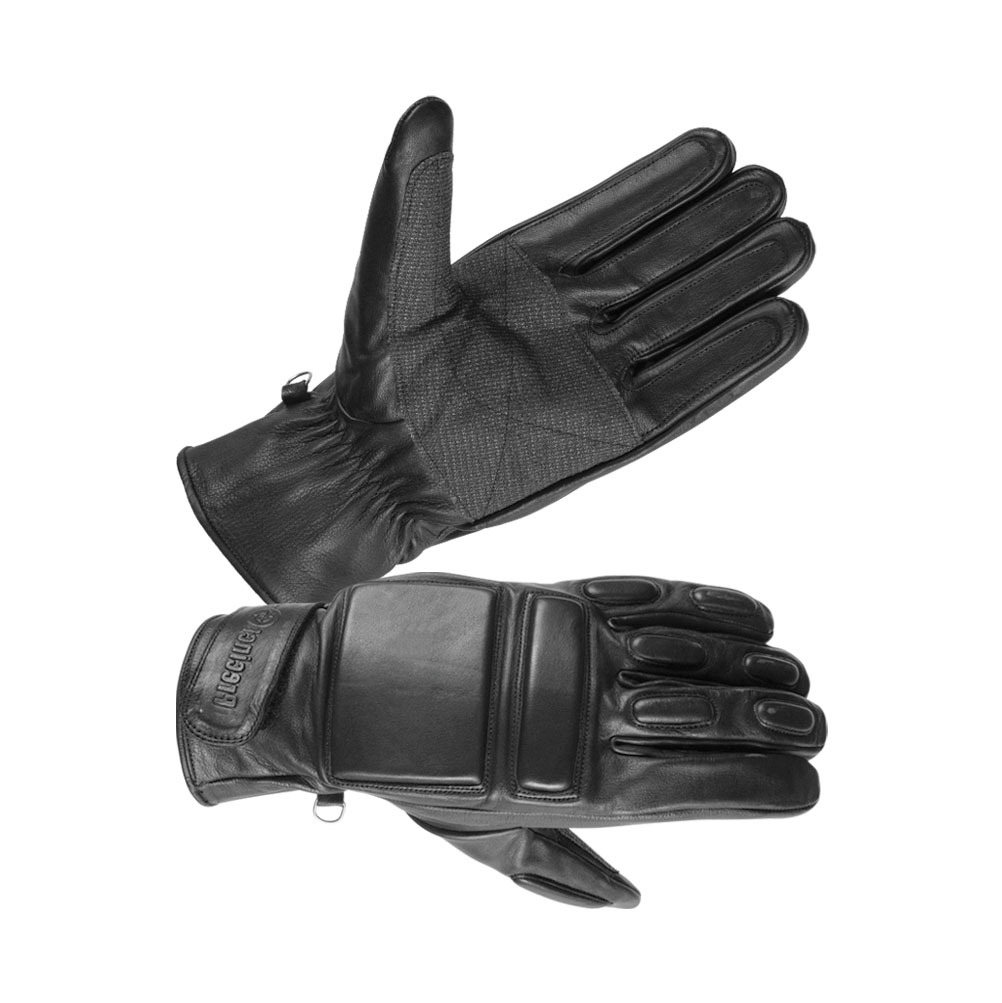 Men's Safety Unlined Technaline Leather Tactical Riot Gloves