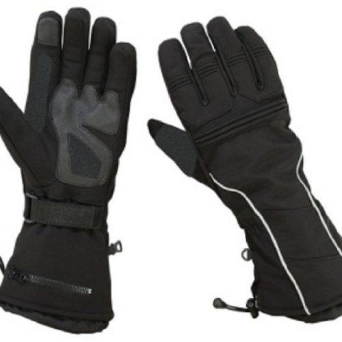 Gauntlet Snowmobile Motorcycle Gloves Men's Textile Ski Driving