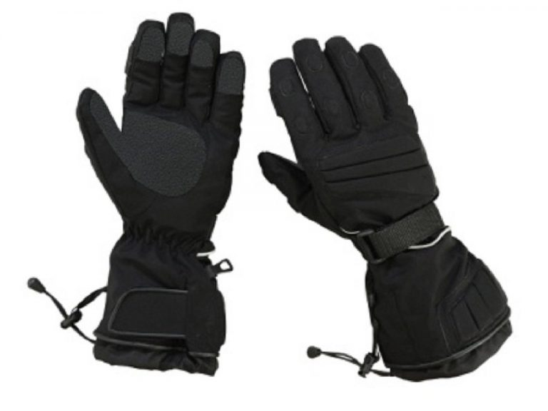 Hugger Insulated Men's Textile Motorcycle Gloves Gauntlet Snowmobile Winter Snow Ski Driving
