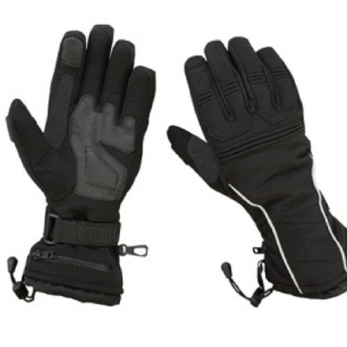 Hugger Women's Textile Gauntlet Snowmobile Ski Driving Winter Gloves