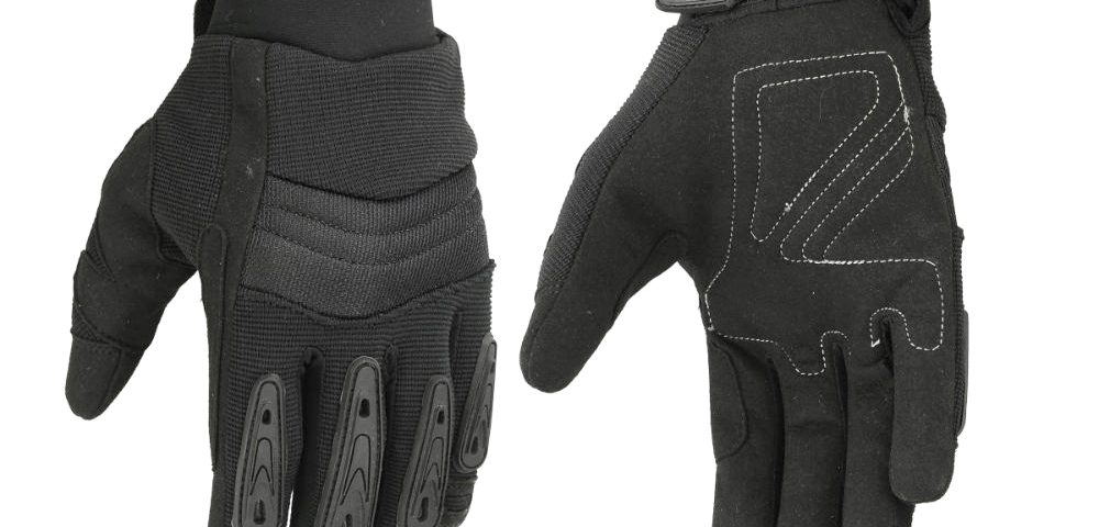 """Hugger Men's """"Air Cooled"""" No Sweat Knit Extreme Comfort Riding Glove"""