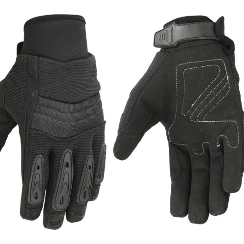 "Hugger Men's ""Air Cooled"" No Sweat Knit Extreme Comfort Riding Glove"