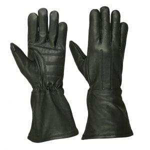 Men's Water Resistant Deerskin Gauntlet Glove