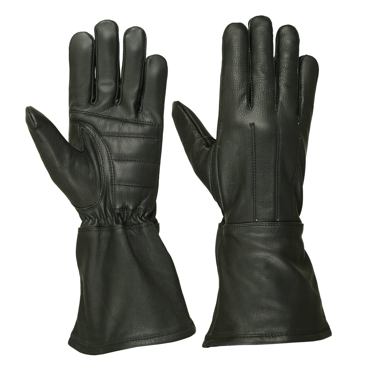 Men's Water Resistant Deerskin Gauntlet Glove