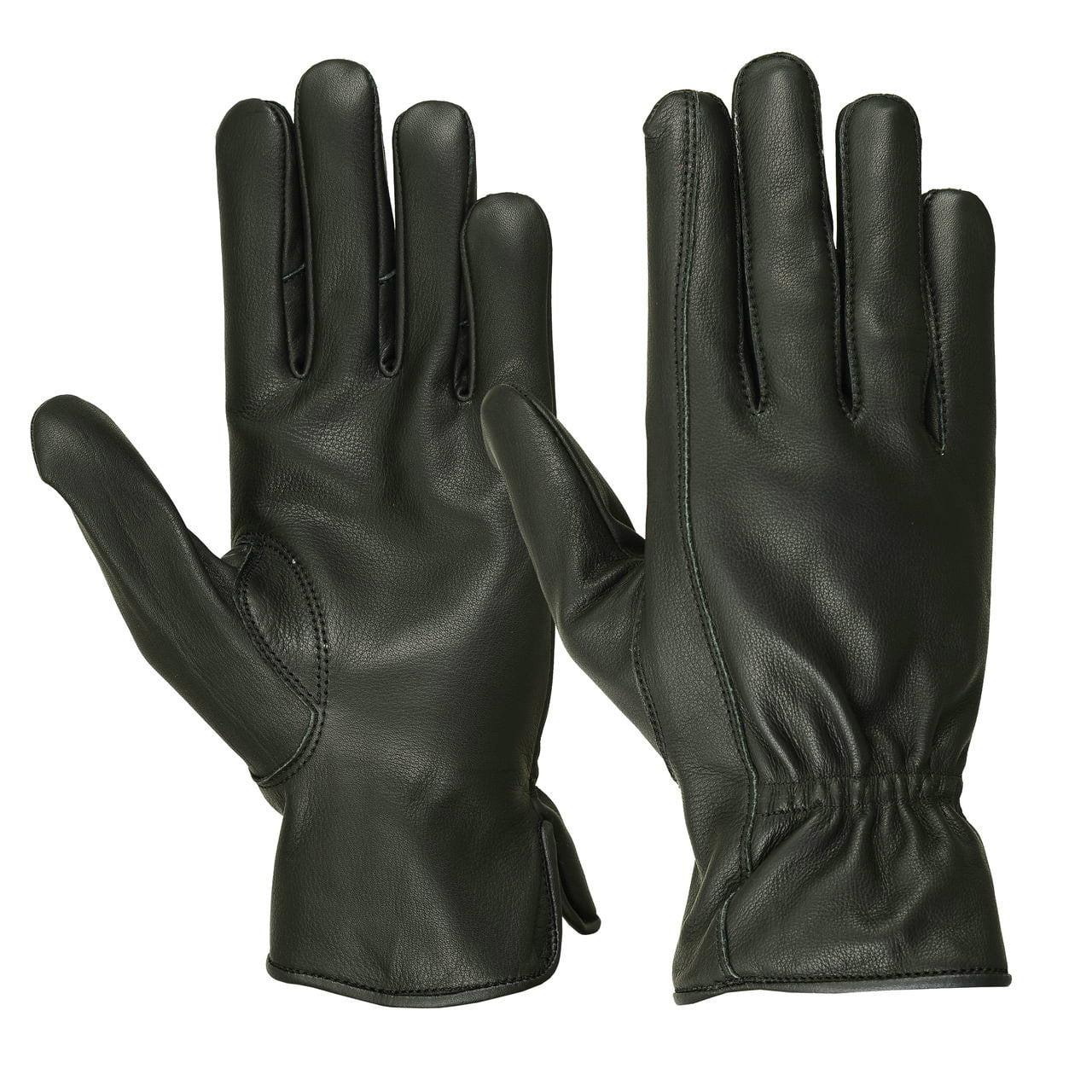 Men's Water Resistant Deerskin Roper Gloves