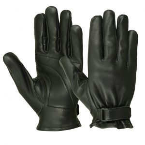 Men's Deerskin Seamless Padded Palm Gloves
