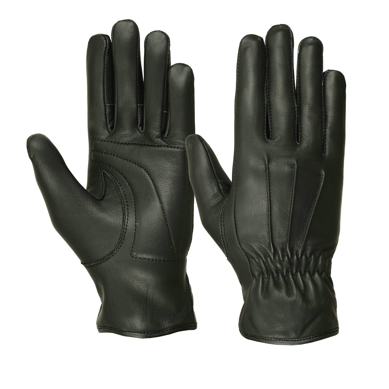 Ladies Water Resistant Deerskin Three Seam Padded Palm Gloves