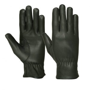 Ladies Water Resistant Deerskin Basic Riding Gloves