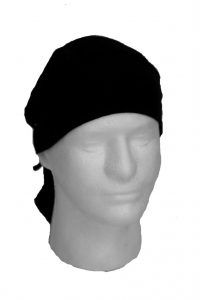 Head Hugger Tie-back, Black