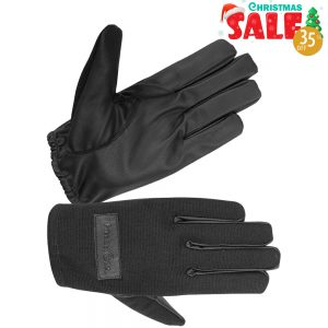 Ladies Unlined Textile Pat-down Gloves