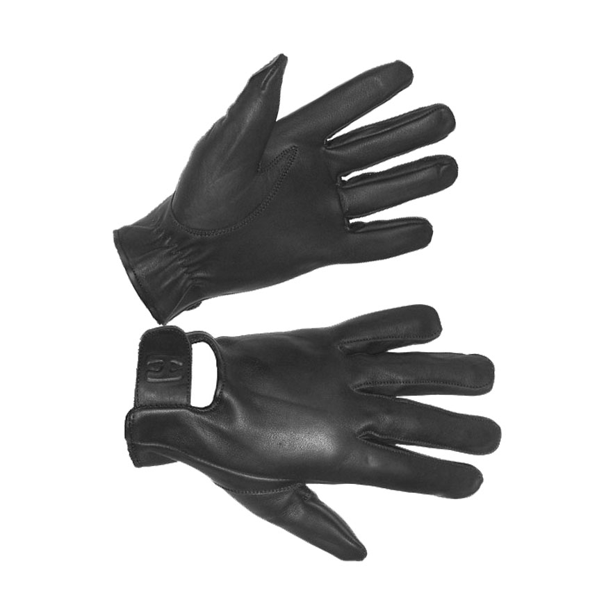 Men's Lightly Lined Technaline Leather, Seamless Riding Gloves, Water Resistant (M.SRG)