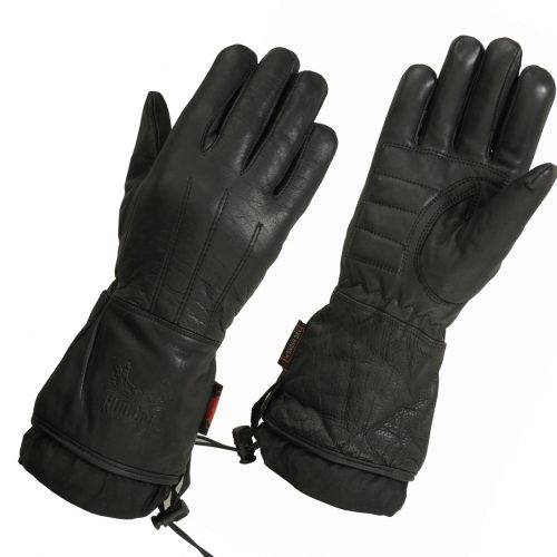 "Ladies Lined Technaline Leather, Classic Gauntlet Gloves, with Waterproof ""Wonder Dry"" Liner aka ""Diane"" Classic Gauntlets as seen on Women Riders Now"