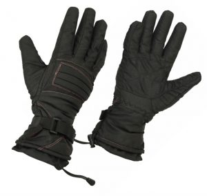 Ladies Cold Stop Lined Textile Gloves, Water Resistant, Windproof (L.WTGL)