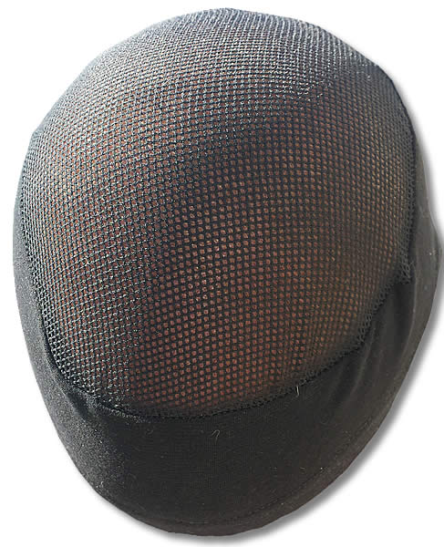 Head Hugger, Mesh Top, Black (A.HH409BB)