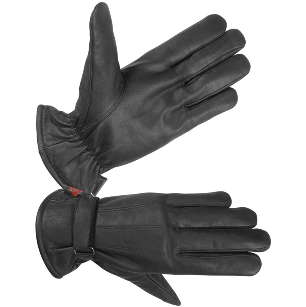 Men's Unlined Technaline Leather, Classic Riding Gloves, Water Resistant (M.CRG)