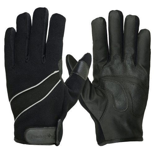 Hugger Men's Lightweight Reflective Motorcycle Gloves-RS2
