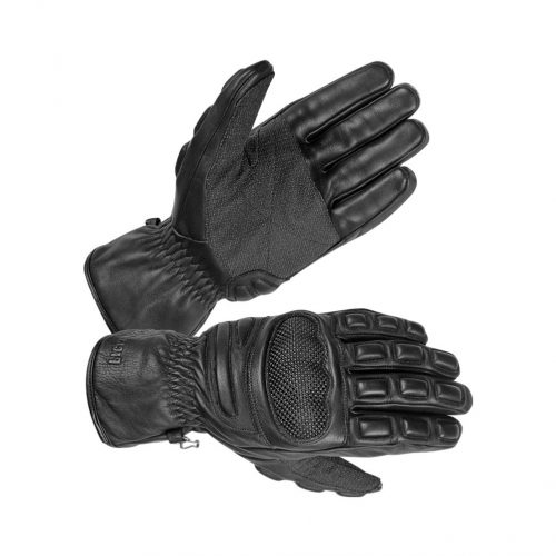 Men's Safety Unlined Technaline Leather, Short Riot Gloves, Water Resistant, Fireproof
