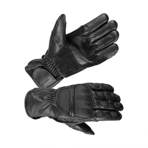 Men's Leather Riot Gloves with Suede