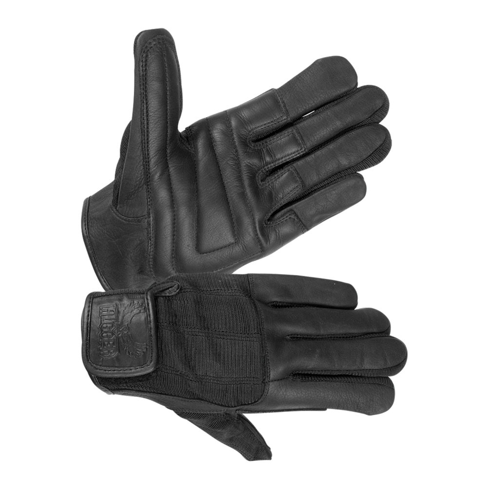 Men's Unlined Technaline Leather, Summer Touring Gloves with Padded Palm, Water Resistant, Breathable (M.STG)