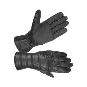Men's Safety Unlined Technaline Leather, Tactical Riot Gloves, Water Resistant Fireproof