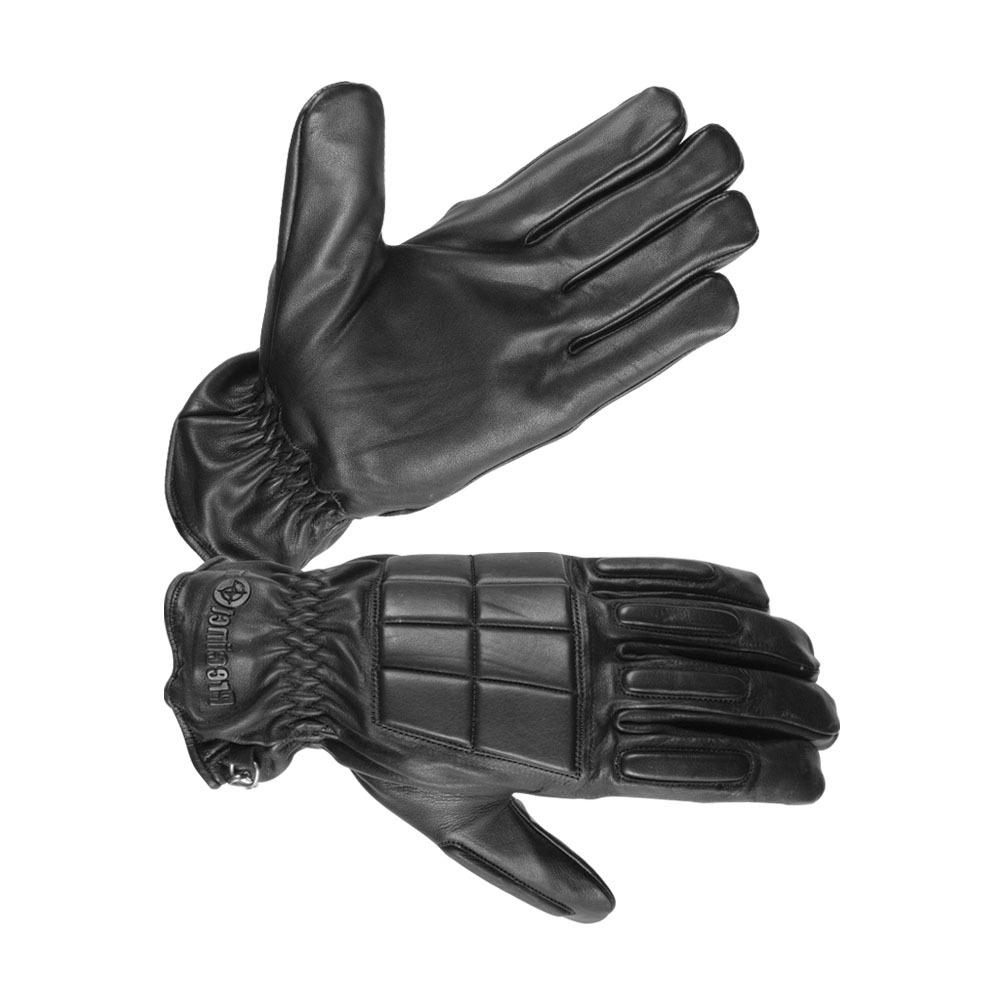 Men's Safety Unlined Technaline Leather, Police Tactical Riot Gloves, Water Resistant, Fireproof