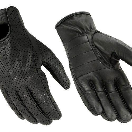 Men's Goatskin Quick Dry Gloves with Gel Palm