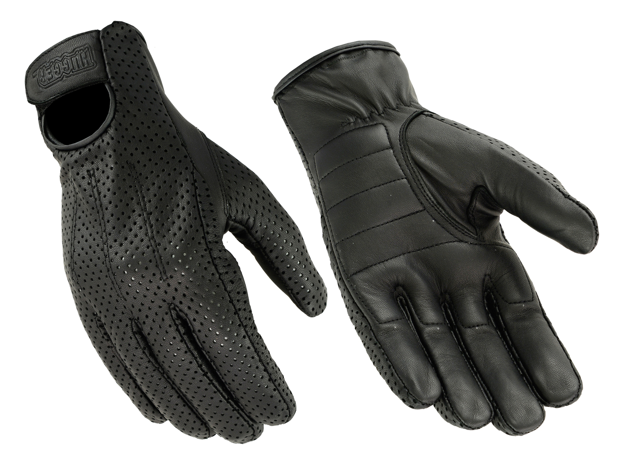 Men's Unlined Technaline Goatskin Leather, Quick Dry Gloves with Gel Palm (M.WLG)