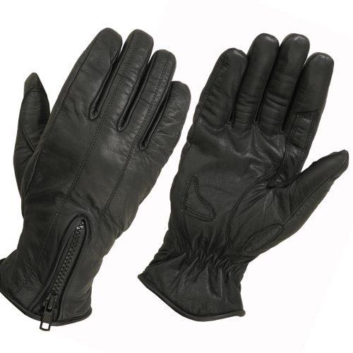 Ladies Cool Max Lined Technaline Leather, Bike Matchers Gloves (L.WBM)