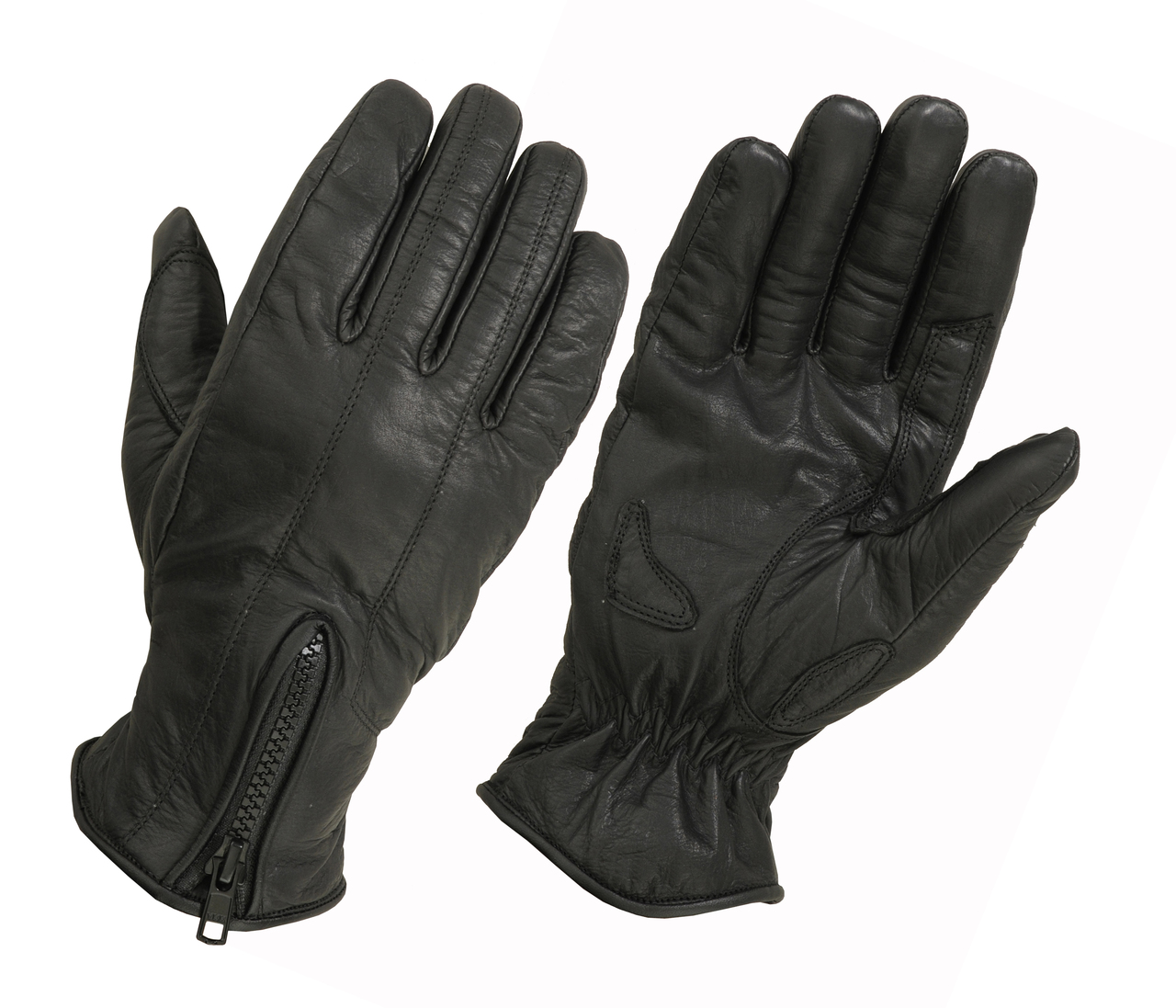 Ladies Cool Max Lined Technaline Leather, Bike Matchers Gloves (L.WBM)