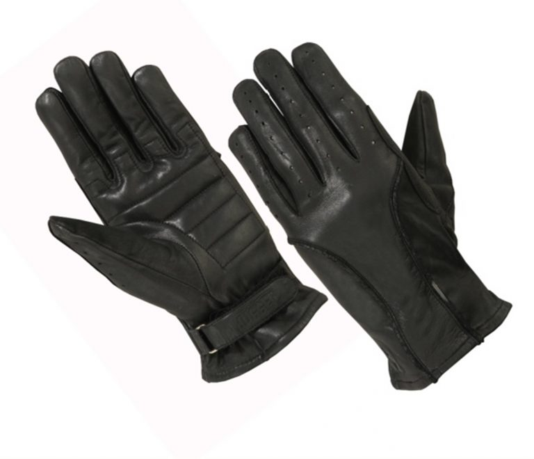Ladies Unlined Technaline Leather, Perforated Classic Gloves with Padded Palm (L.WGUPG)
