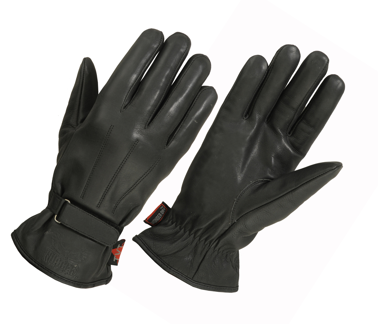 "Ladies Lined Technaline Leather, Classic Riding Gloves with Waterproof ""Wonder Dry"" Liner (L.WMCRG)"