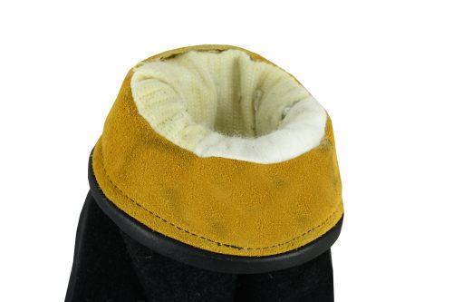 Hard Knuckle Fire Gloves -inside cuff