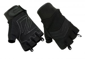 HG34-HG35 FIngerless-Black with Loops