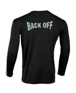 Men's Reflective Shirt -Back Off -Back