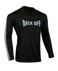 Men's Reflective Shirt -Back Off-Front