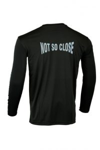 Men's Reflective Shirt -Not So Close -Back