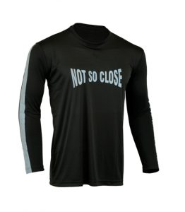 Men's Reflective Shirt -Not So Close-Front