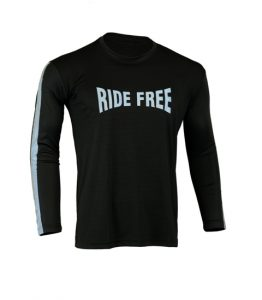 Men's Reflective Shirt -Ride Free-Front