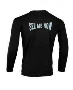 Men's Reflective Shirt -See Me Now-Back