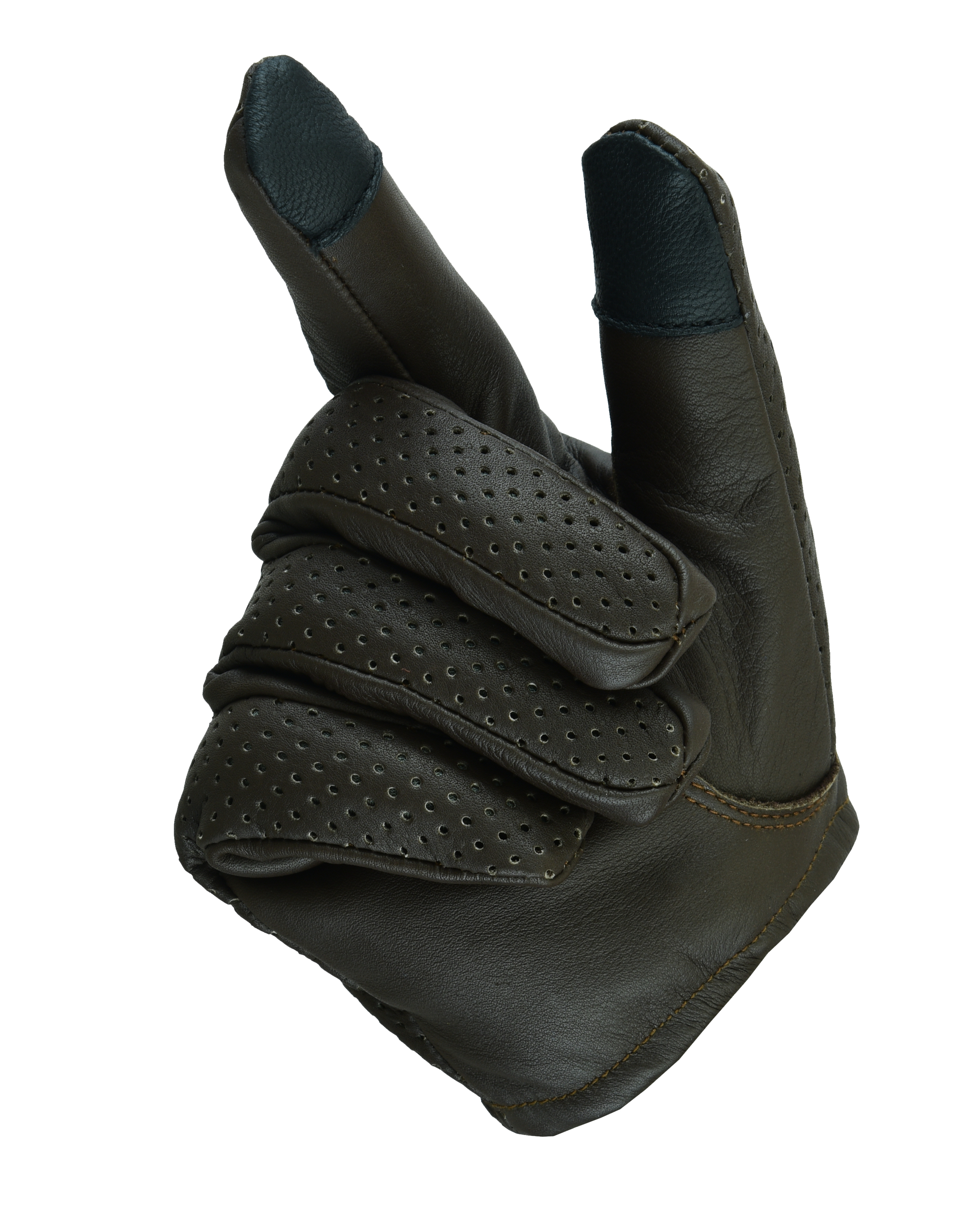 ff2ace47c476b Men's Air Pro Sport Motorcycle, Driving, Police Patrol Summer Glove Water  Resistant Leather