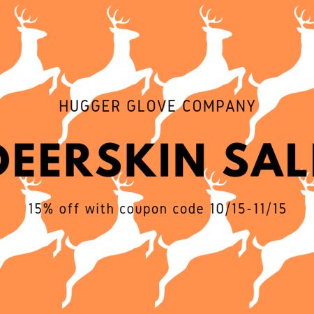 hugger deerskin sale
